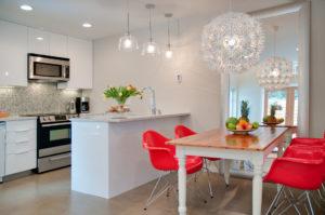 vancouver furnished rental kitchen