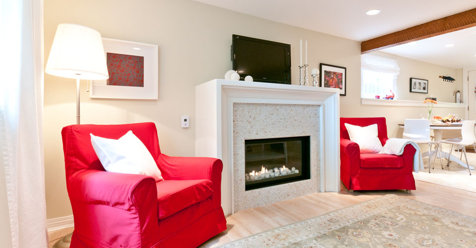 furnished rental suite in kitsilano vancouver